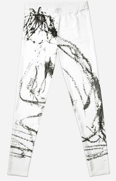 yoga art leggings